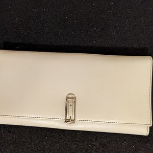 Coach Vtg Calf Leather Trifold Wallet Organizer